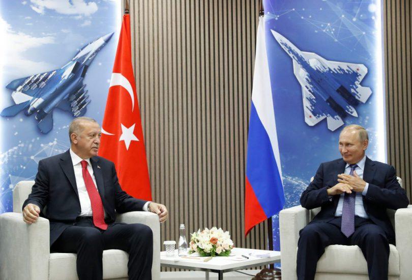 Putin y Erdogan inauguraron el salón aeroespacial MAKS 2019