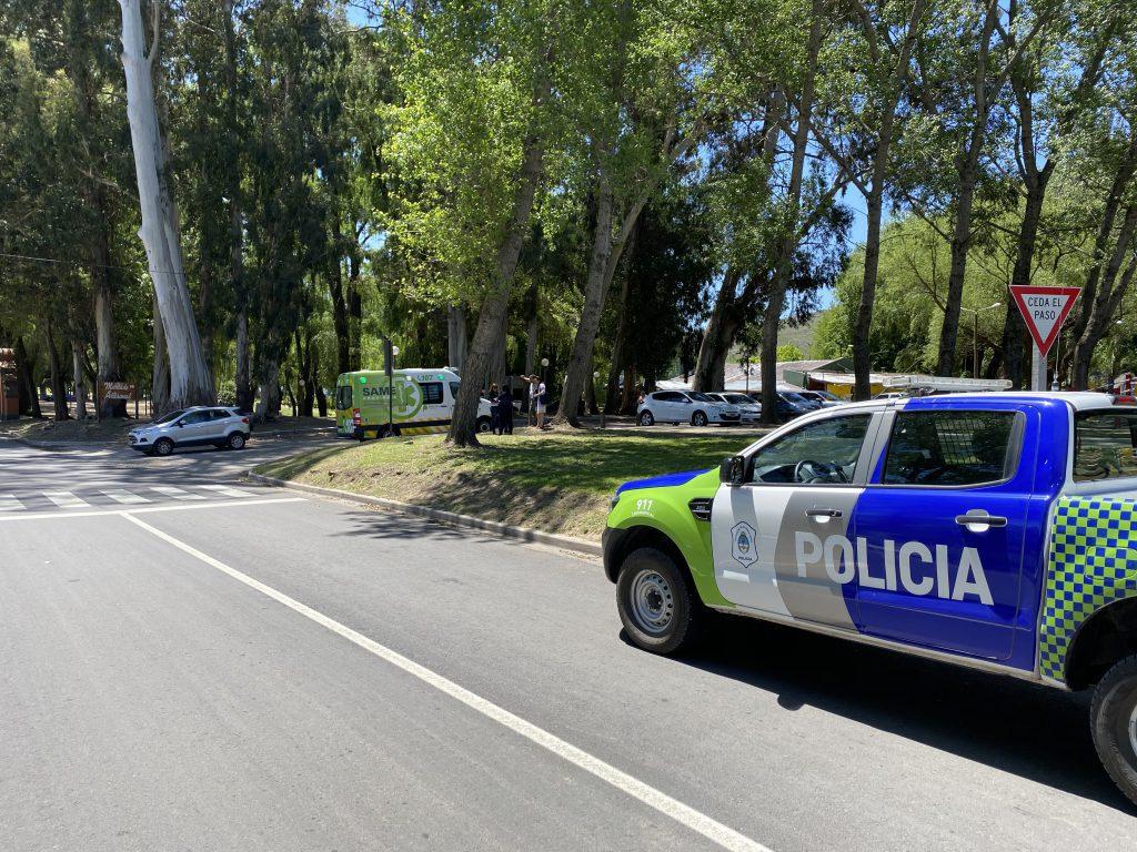 Un hombre fue trasladado al Hospital tras chocar en Saavedra Lamas - El Eco de Tandil