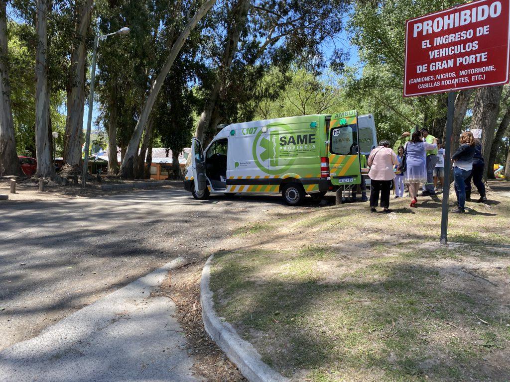 Un hombre fue hospitalizado tras colisionar en la avenida Saavedra Lamas - El Eco de Tandil